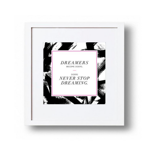 Kate Spade - Black Dots Acrylic Picture Frame