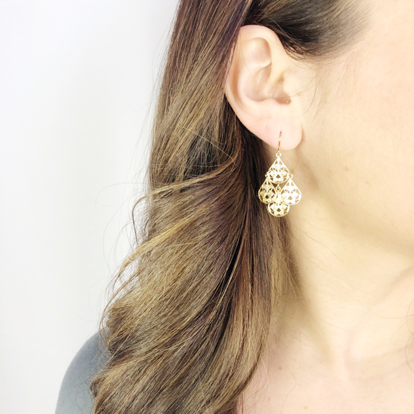 I found this at #moonandlola - Harrods Earrings