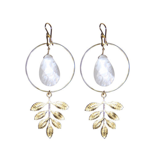 I found this at #moonandlola! - Monaco Earrings
