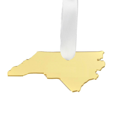 Brass South Carolina Ring