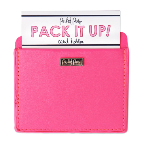 Moon and Lola - Packed Party Mimosa Money card holder