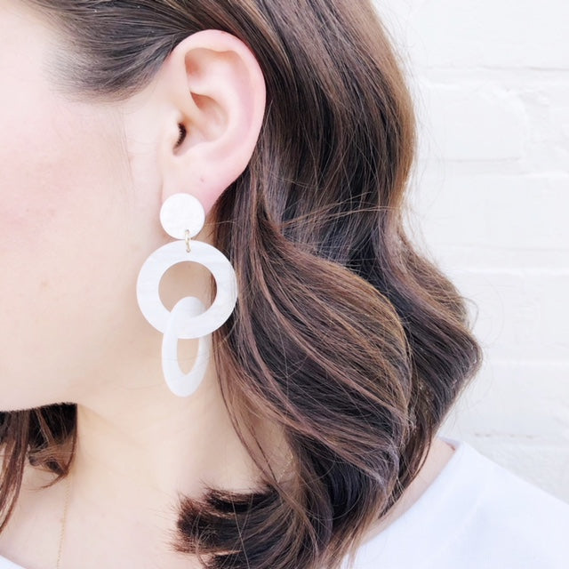 Moon and Lola - Pearl Putnam Earrings