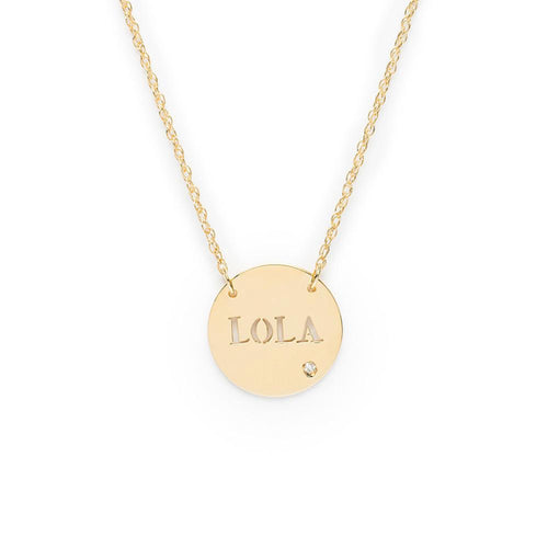 I found this at #moonandlola - Marbella Block Necklace