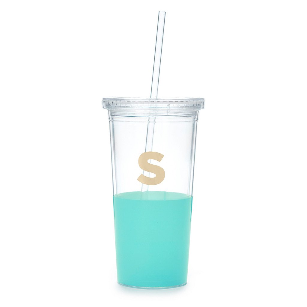 "Moon and Lola - Kate Spade Dipped ""S"" Tumbler"