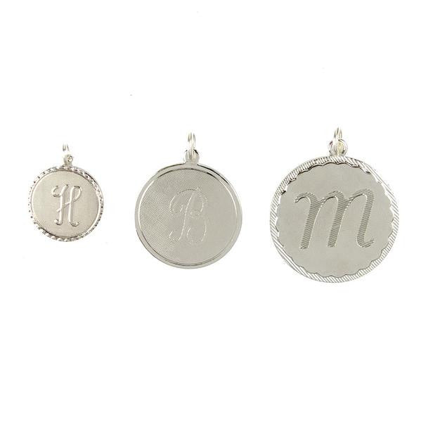 Moon and Lola silver metal Dalton Charm in three sizes