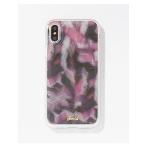 Moon and Lola - Sonix Pink Tortoise iPhone X Case