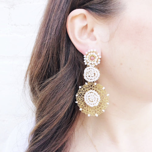 Moon and Lola - Papara Pearl Earrings