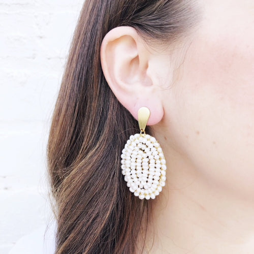 Moon and Lola - Tepati Pearl Earrings