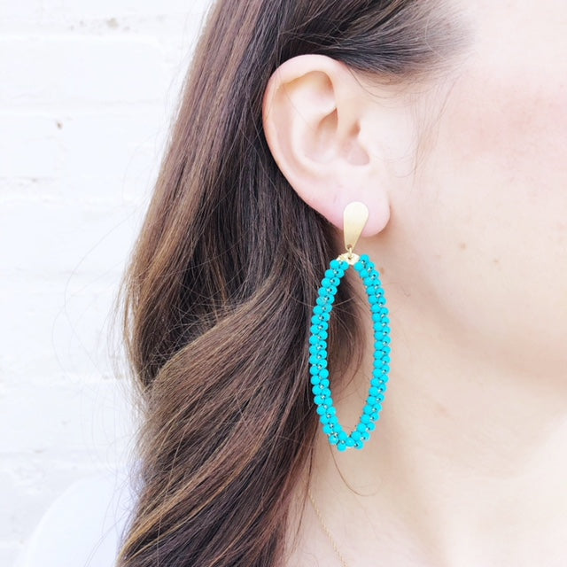 Moon and Lola - Taravai Turquoise Earrings