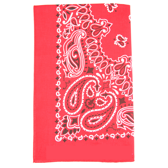 Moon and Lola - Traditional Bandana in Red