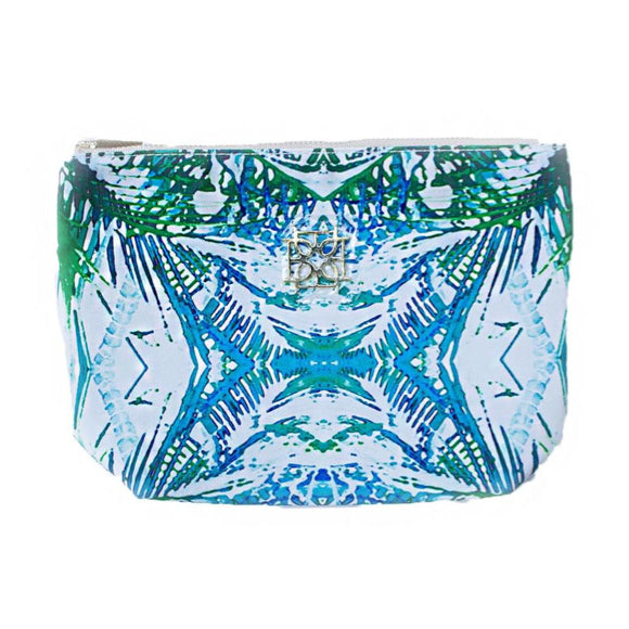 Moon and Lola - Blush Label Cosmetic Bag in Jungle print