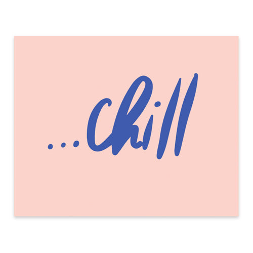 Moon and Lola xx Thimblepress - Chill Note Card w/envelope