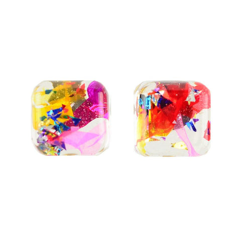 ML xx TP Confetti Gender Reveal Earrings