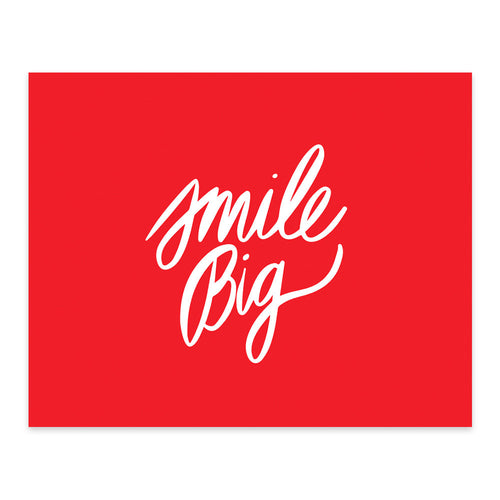 Moon and Lola xx Thimblepress - Smile Big Note Card