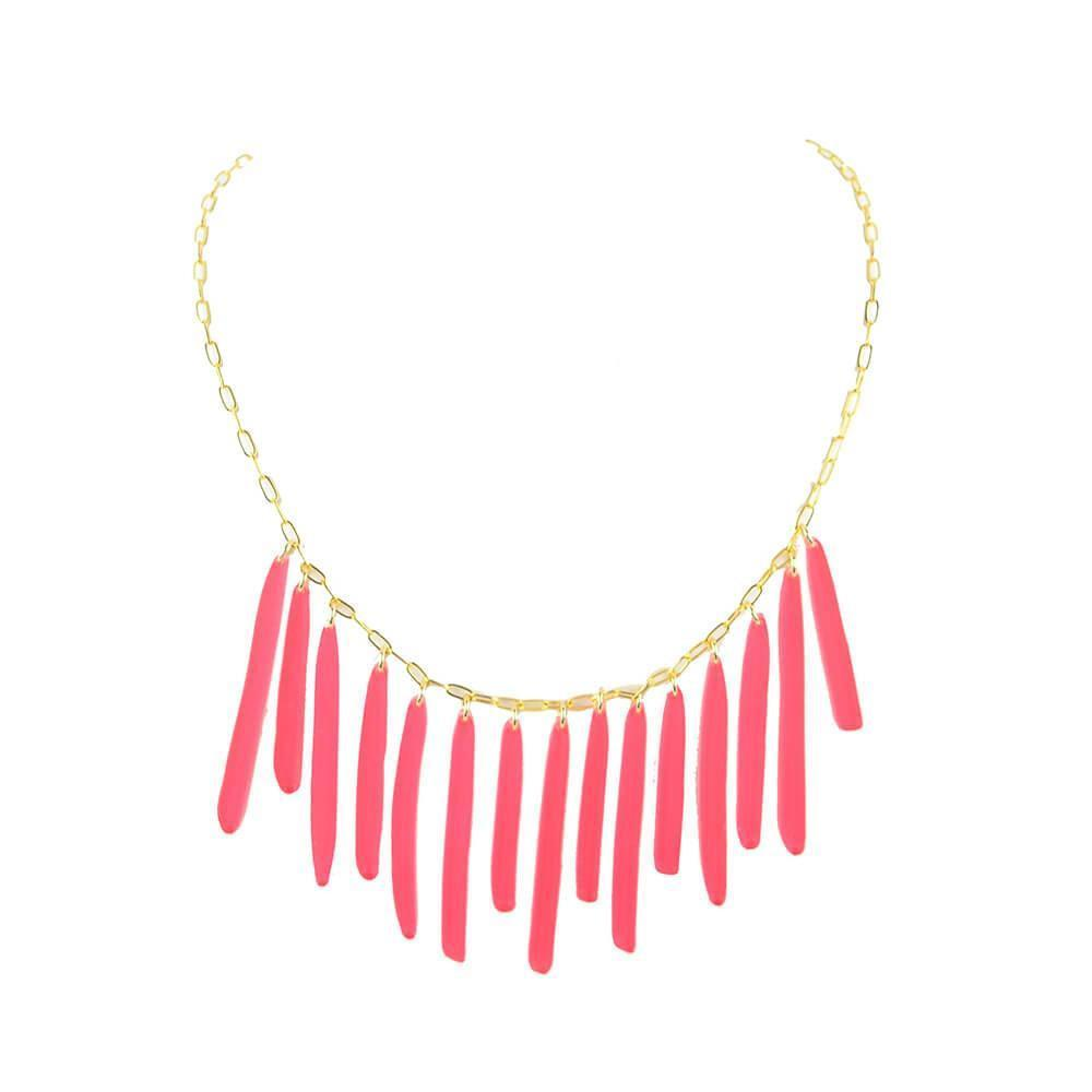 Moon and Lola xx Thimblepress - Vertical Bib Necklace