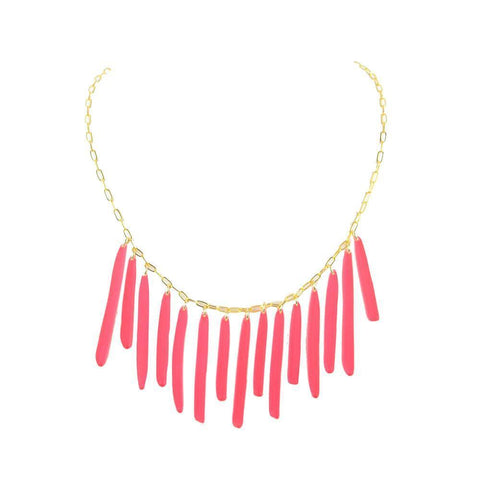 ML xx TP Confetti Tassel Necklace