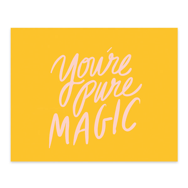 Moon and Lola xx Thimblepress - You're Pure Magic Note Card