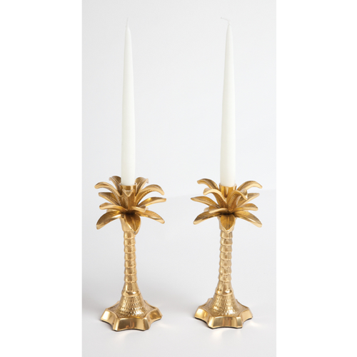 Moon and Lola - 8 Oak Lane Palm Tree Candle Holders