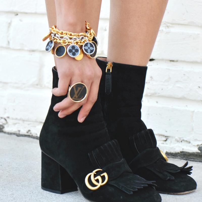 Moon and Lola - Leone Hatherly Bracelets with Gucci  boots