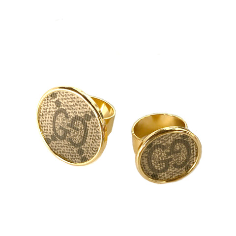 Goji Round Post Earrings