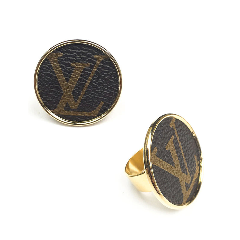 Moon and Lola - Leone Printed Round Ring