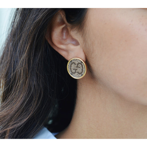 Moon and Lola - Goji Round Post Earrings