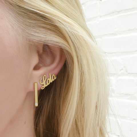 I found this at #moonandlola! - Chelsea Post Earrings