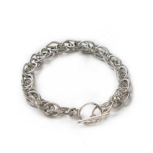 I found this at #moonandlola! - Nantucket Bracelet Silver