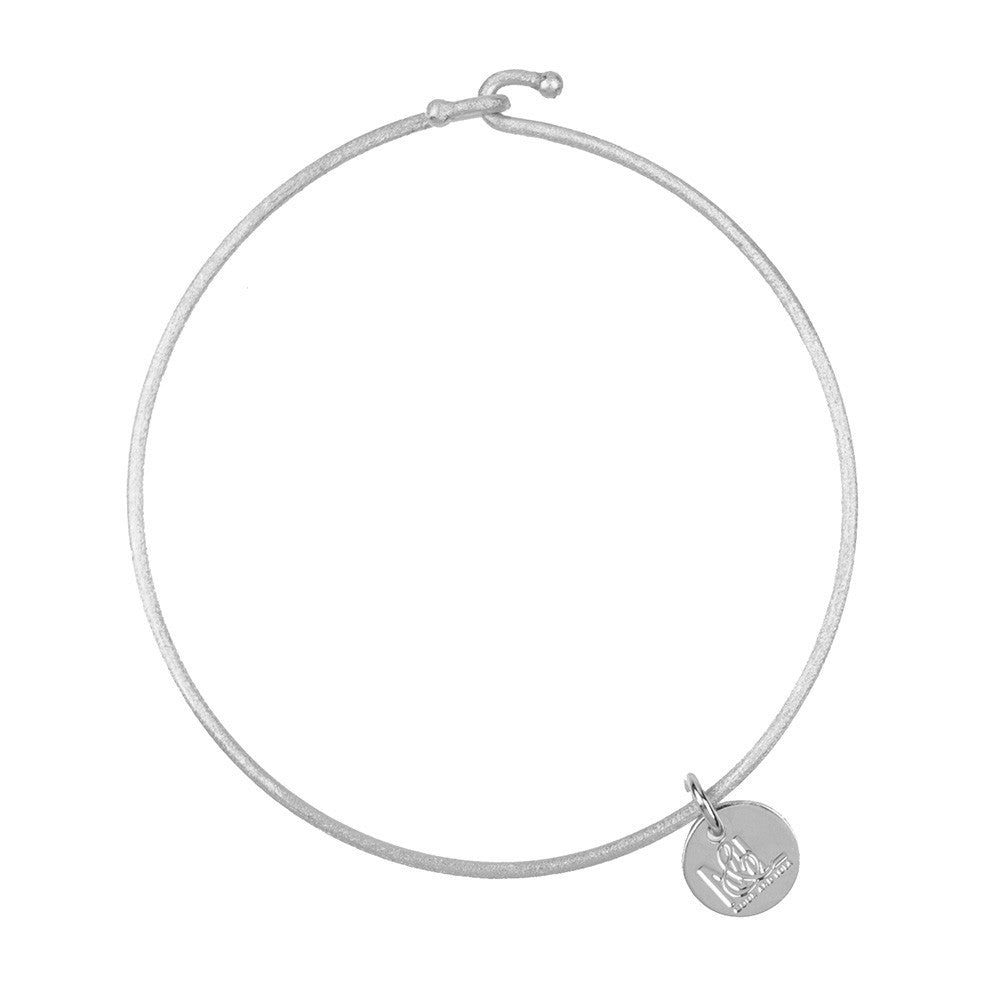 I found this at #moonandlola! - Nora Bangle Silver