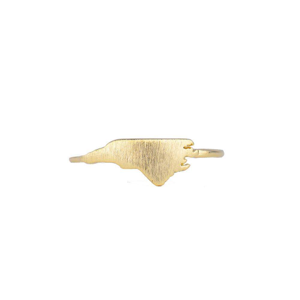 Moon and Lola - Brass North Carolina Ring