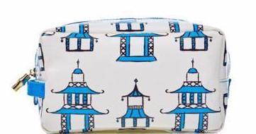 I found this at #moonandlola - Toss Designs Cosmetic Bag in Blue Pagoda