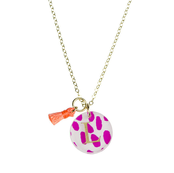 I found this at #moonandlola! - Patterned Dalton Charm on Apex Chain