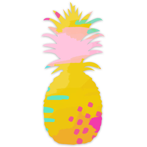 I found this at #moonandlola! - Patterned Pineapple Wall Art
