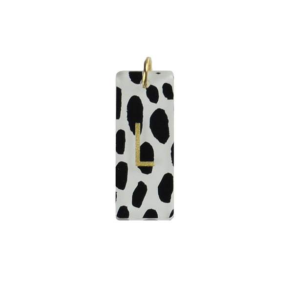 I found this at #moonandlola! - Patterned Rectangle Charm