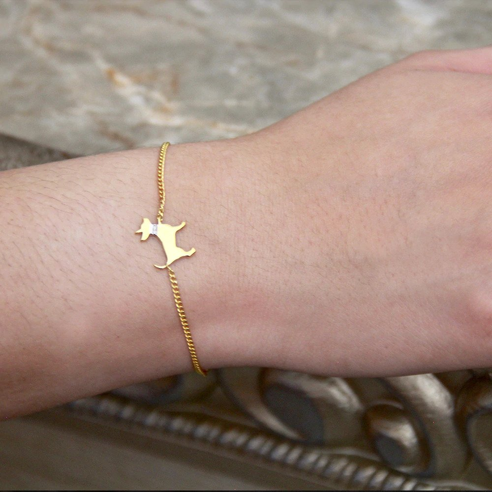 Moon and Lola -  Petit Bijou Bracelet With Diamonds