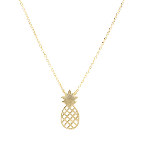 Metal Tiny Pineapple Charm