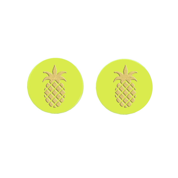 Moon and Lola - Eden Studs Pineapple