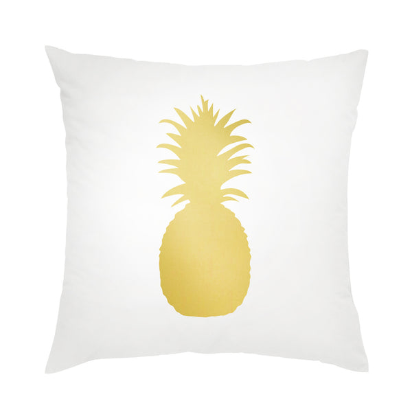 Moon and Lola - Pineapple Pillow Gold Foil