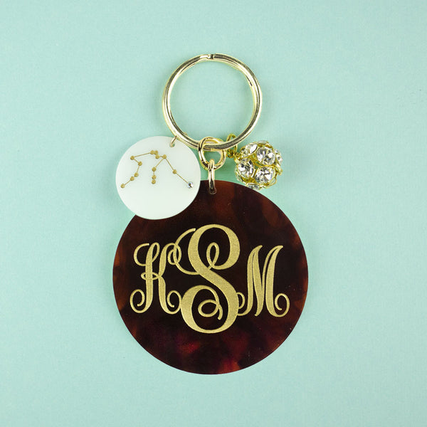 I found this at #moonandlola! - Providence Keychain with Charms