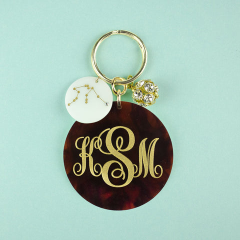 Moon and Lola - Providence Key Chain