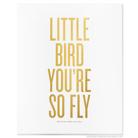 Moon and Lola - RBTL Little Bird Print