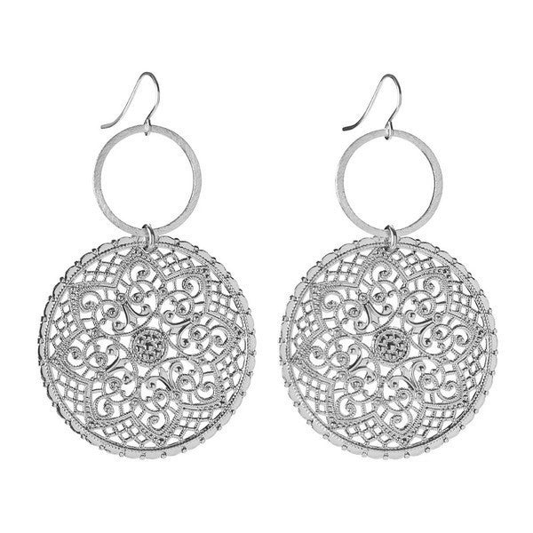Moon and Lola - Rambaugh Earrings Sterling Silver