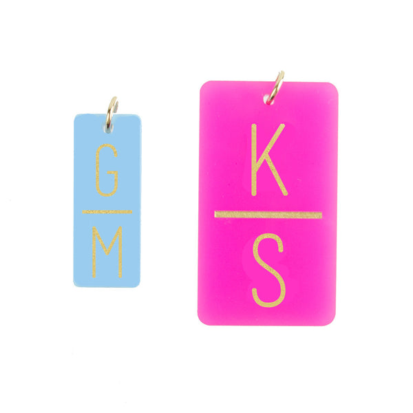 I found this at #moonandlola! - Rectangle Charm Sizes
