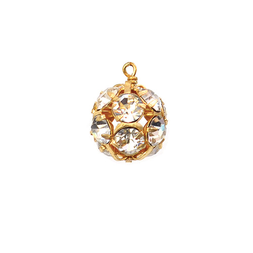 I found this at #moonandlola! - Rhinestone Ball Charm