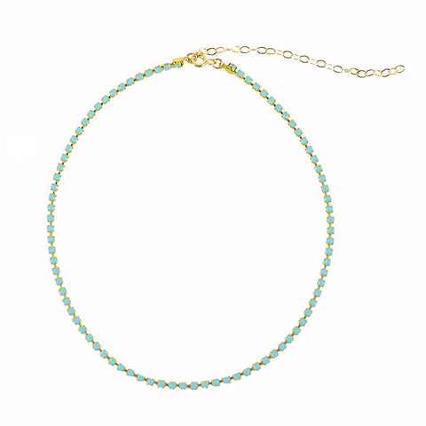 Jellybean Chalcedony Necklace