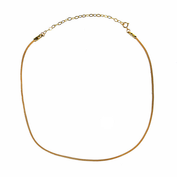 I found this at #moonandlola! - Roxanne Leather Choker