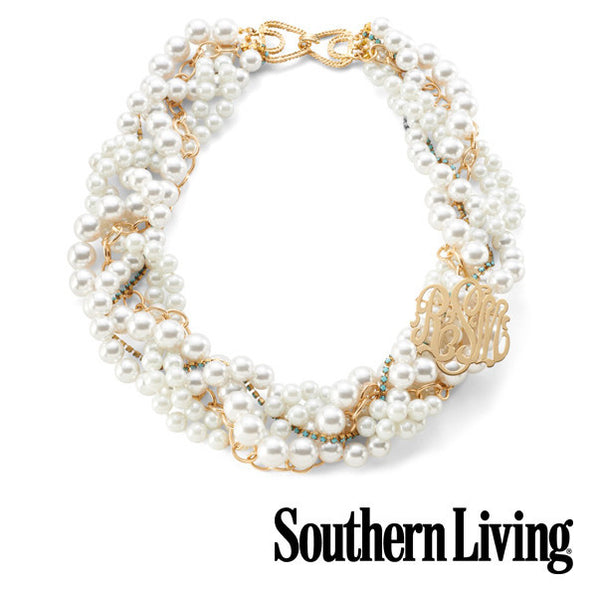 Moon and Lola - Southern Living Monogram Necklace