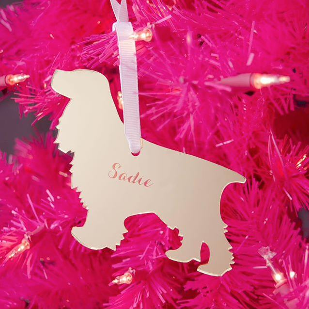 I found this at #moonandlola! - Cocker Spaniel Ornament Styled