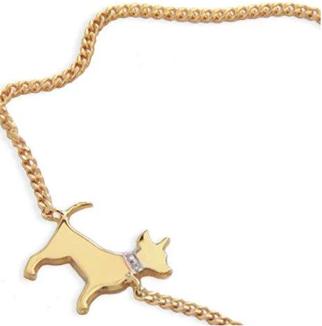 Moon and Lola - Petit Bijou Bracelet chihuahua with diamond collar