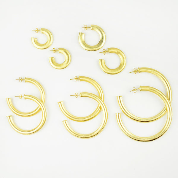 I found this at #moonandlola! - Serena Hoops Sizes